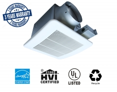 Akicon Ultra Quiet 110CFM 0.8Sone Ceiling Mounted Energy Star Rated and HVI Certified Bath Fan Ventilation Fan Bathroom Exhaust Fan