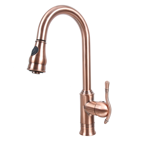 Antique Copper Kitchen Faucet Wholesaler Factory Outlet ...
